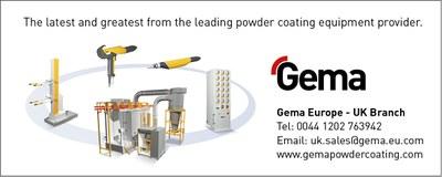 Gema Powder Coating Advert